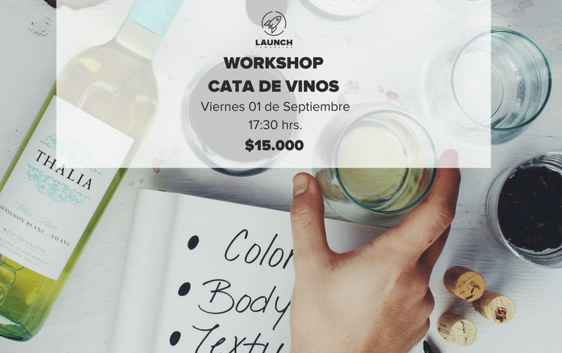 Workshop: Cata de Vinos