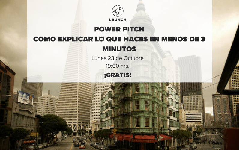 Power Pitch: Como explicar lo que haces en menos de 3 minutos