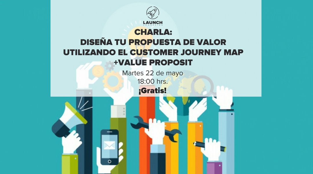 Diseña tu propuesta de valor utilizando el Customer Journey Map + Value Proposit