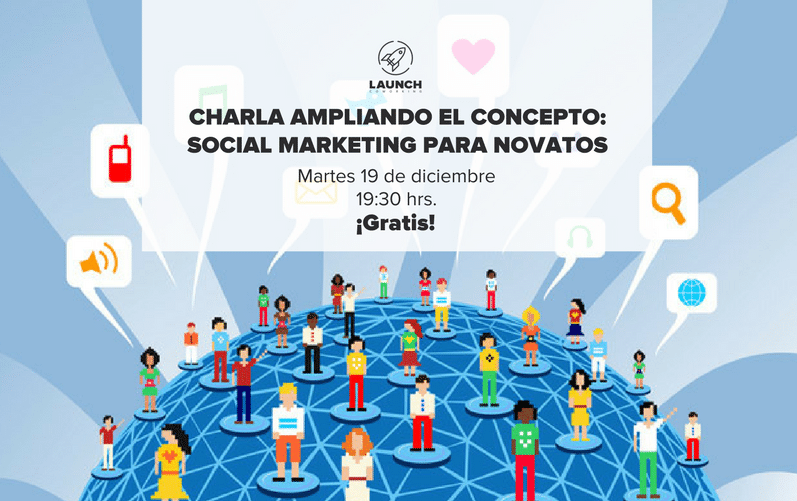 Charla Ampliando El Concepto: Social Marketing Para Novatos