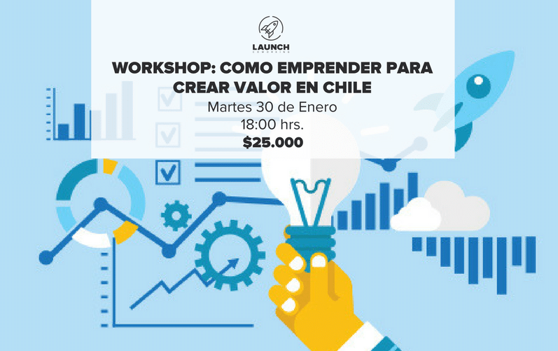 Workshop: Como emprender para crear Valor en Chile
