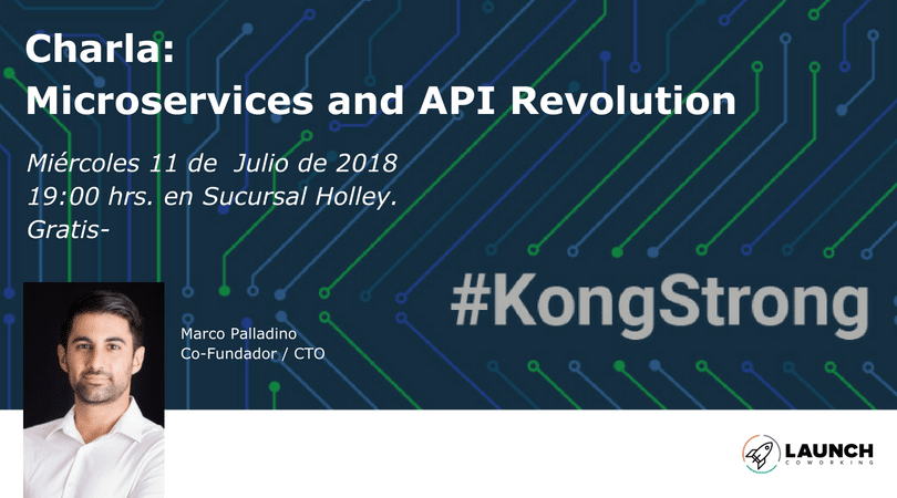 Charla: Microservices and API Revolution