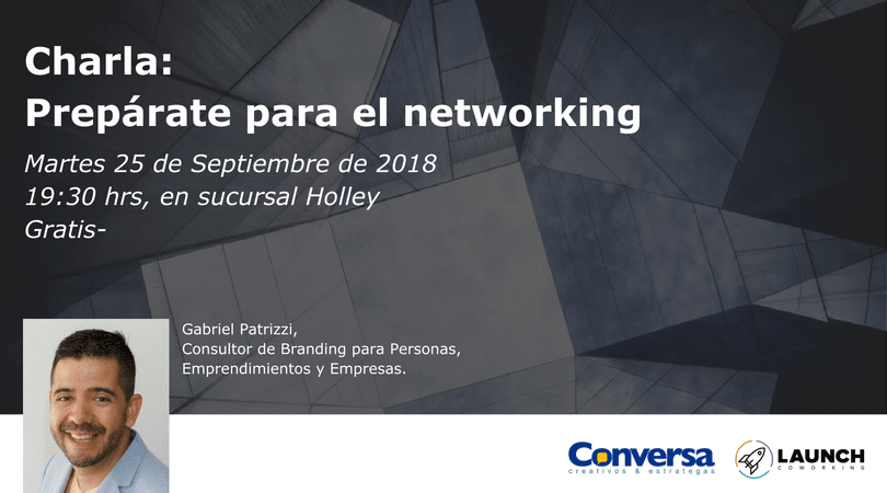 Charla: Prepárate para el networking