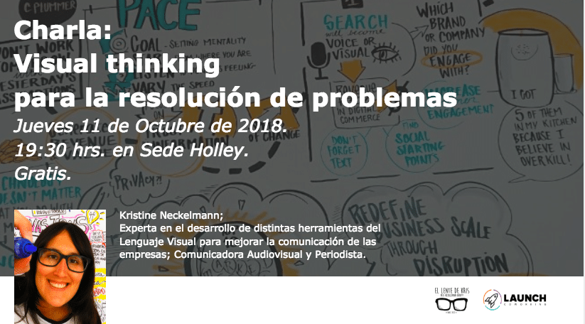 Charla: Visual thinking para la resolución de problemas