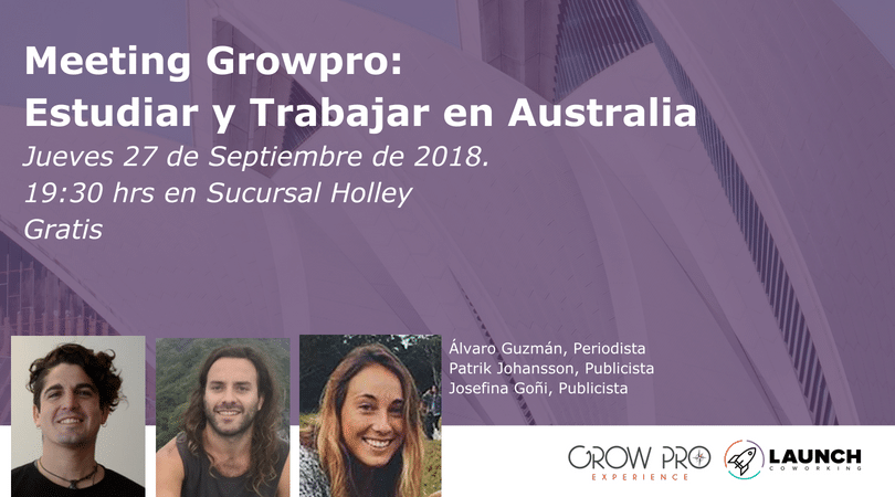 Charla: Meeting Growpro