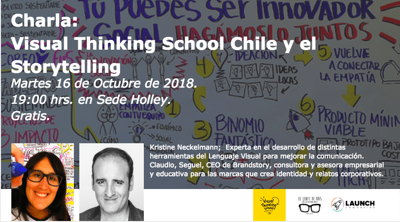 Charla: Visual Thinking School Chile y el Storytelling