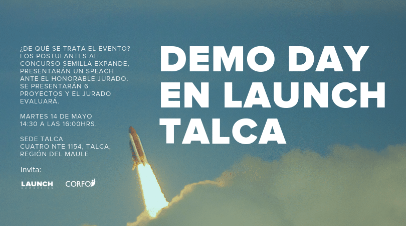 Demo Day en LAUNCH talca