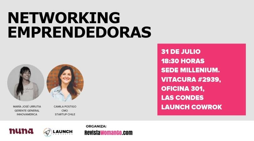 Networking+Woman go