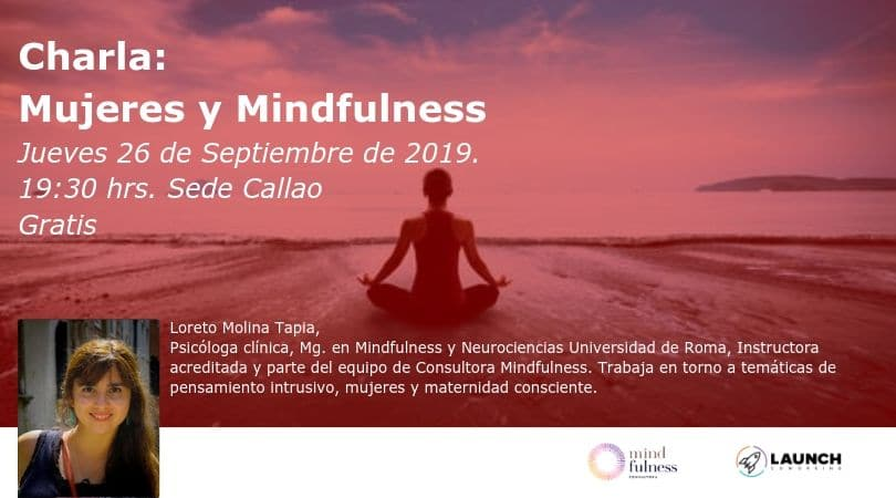 Charla: Mujeres y Mindfulness